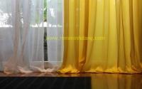 Cách may rèm vải ore