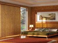 Rèm gỗ dọc tự nhiên chất liệu gỗ Bass Wood