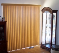 Nhận lắp đặt rèm cửa gỗ dọc tại nhà