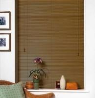 Rèm gỗ mầu nâu trang trí phòng làm việc công ty