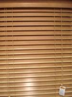 Rèm gỗ Pilano B-015 bản 3,5cm mầu cánh gián