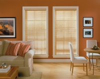 Rèm lá nhựa PVC-04 giá rẻ giả gỗ hiện đại